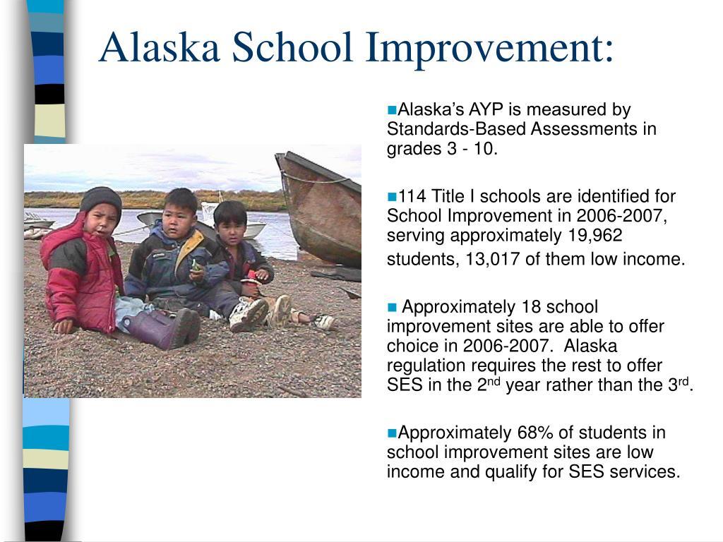 Alaska School Improvement: