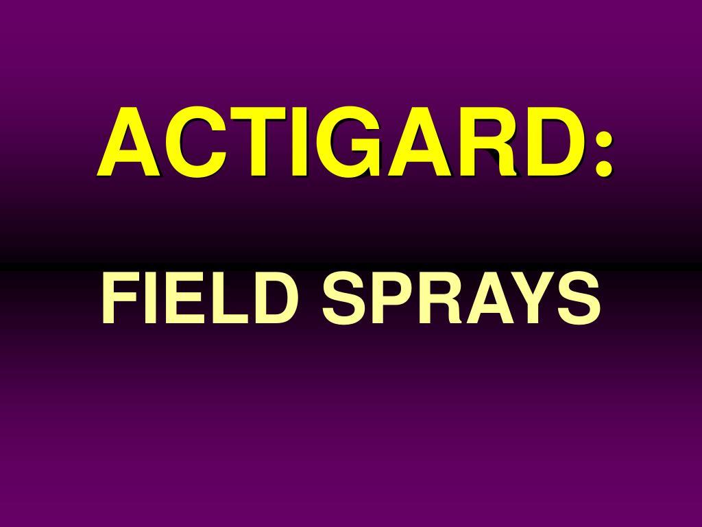 ACTIGARD