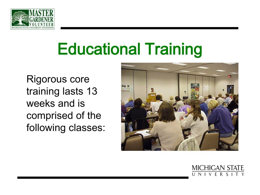 Educational Training