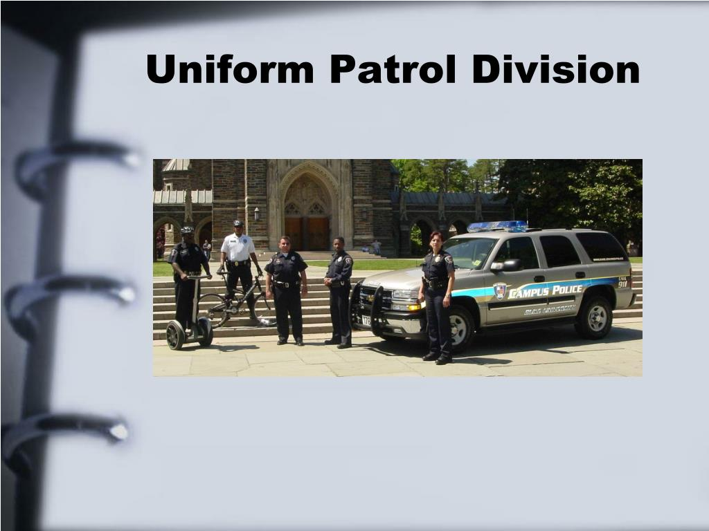 Uniform Patrol Division