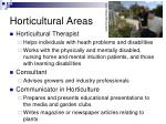 horticultural areas