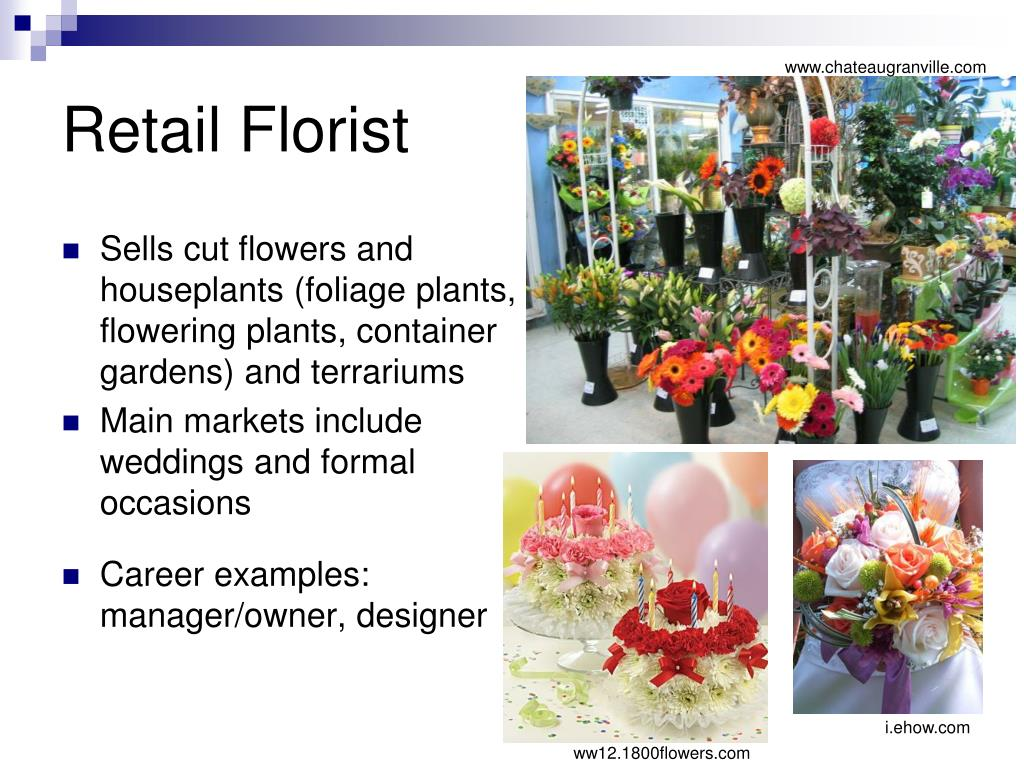 Retail Florist
