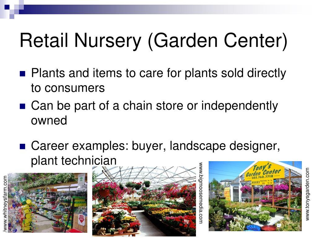 Retail Nursery (Garden Center)