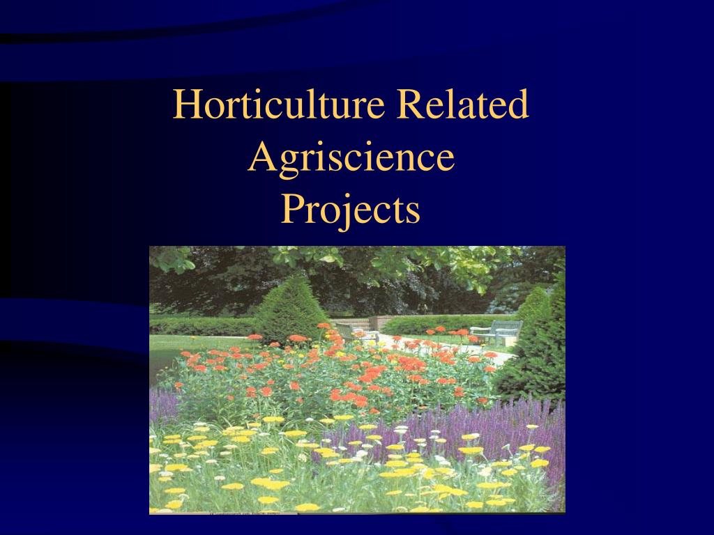 Horticulture Related
