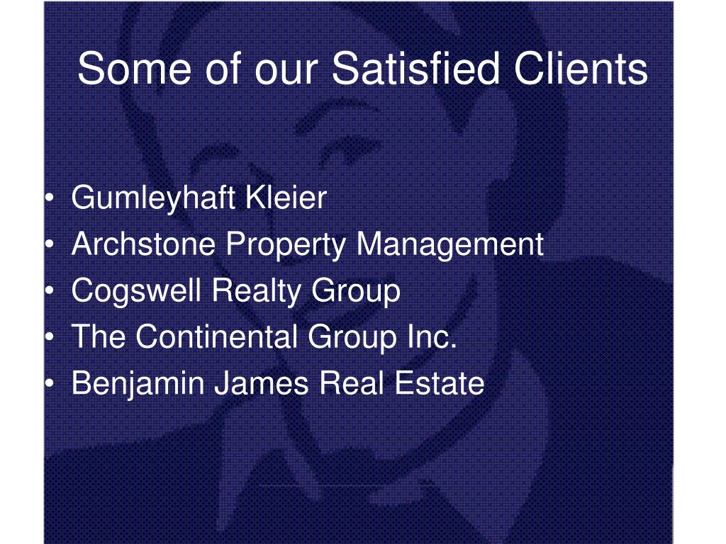 Some of our Satisfied Clients