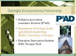 georgia environmental partnership