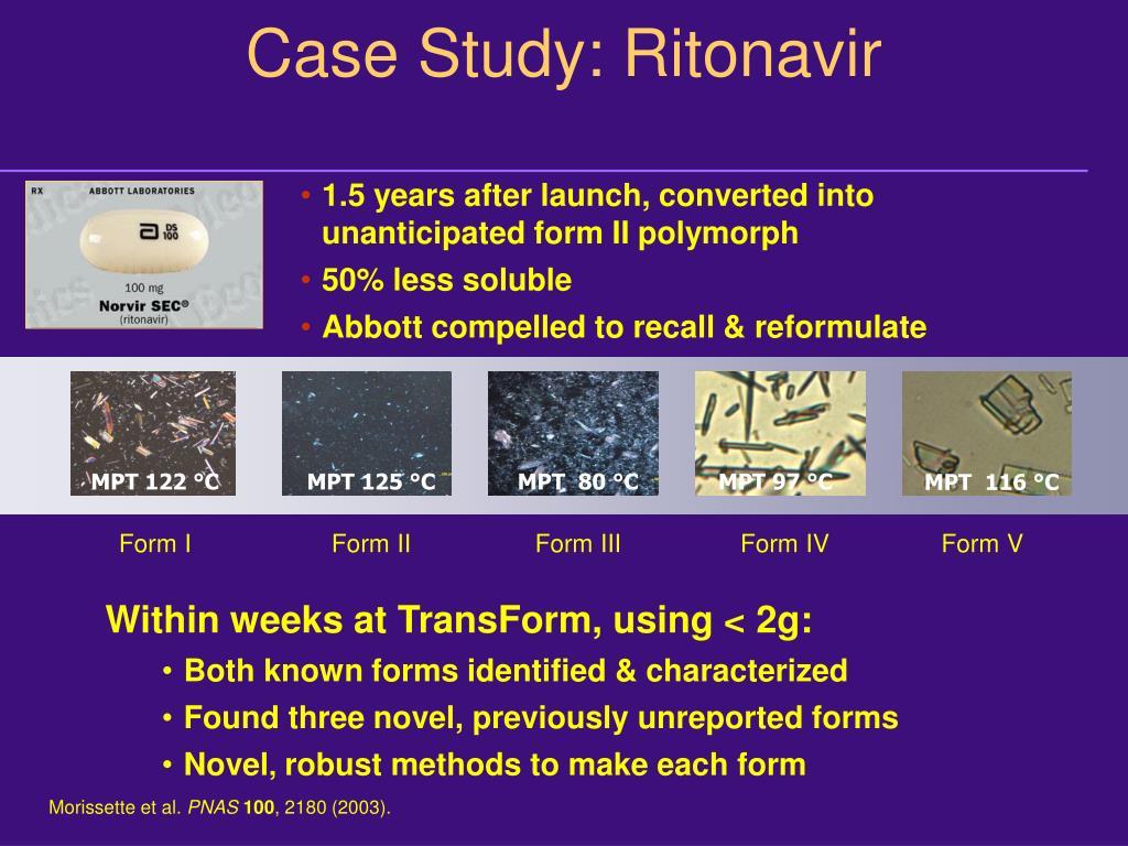 Case Study: Ritonavir
