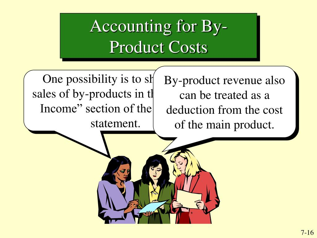 Accounting for By-Product Costs