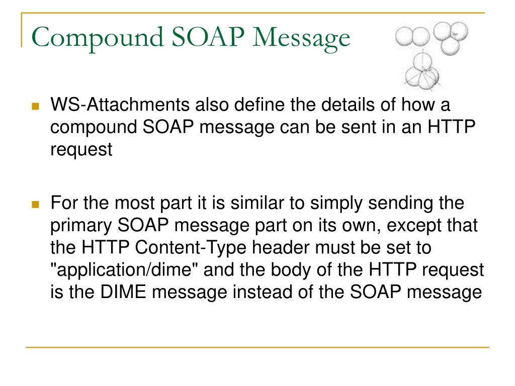 Compound SOAP Message