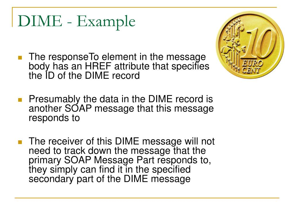 DIME - Example
