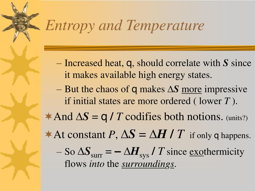 Entropy and Temperature