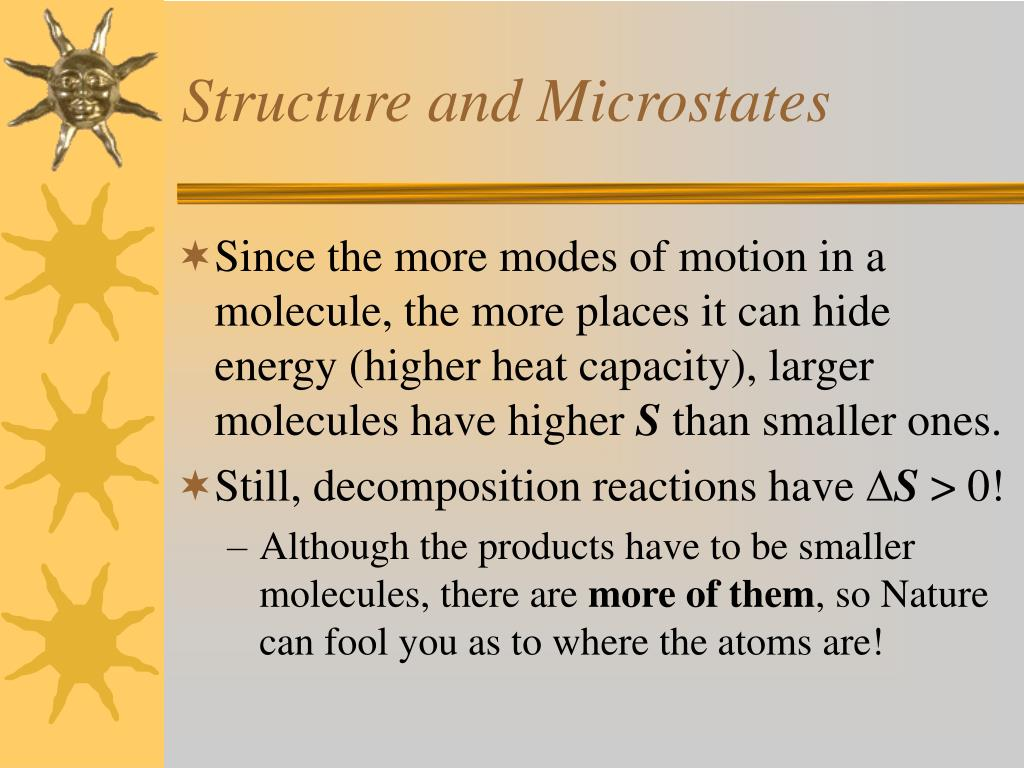 Structure and Microstates