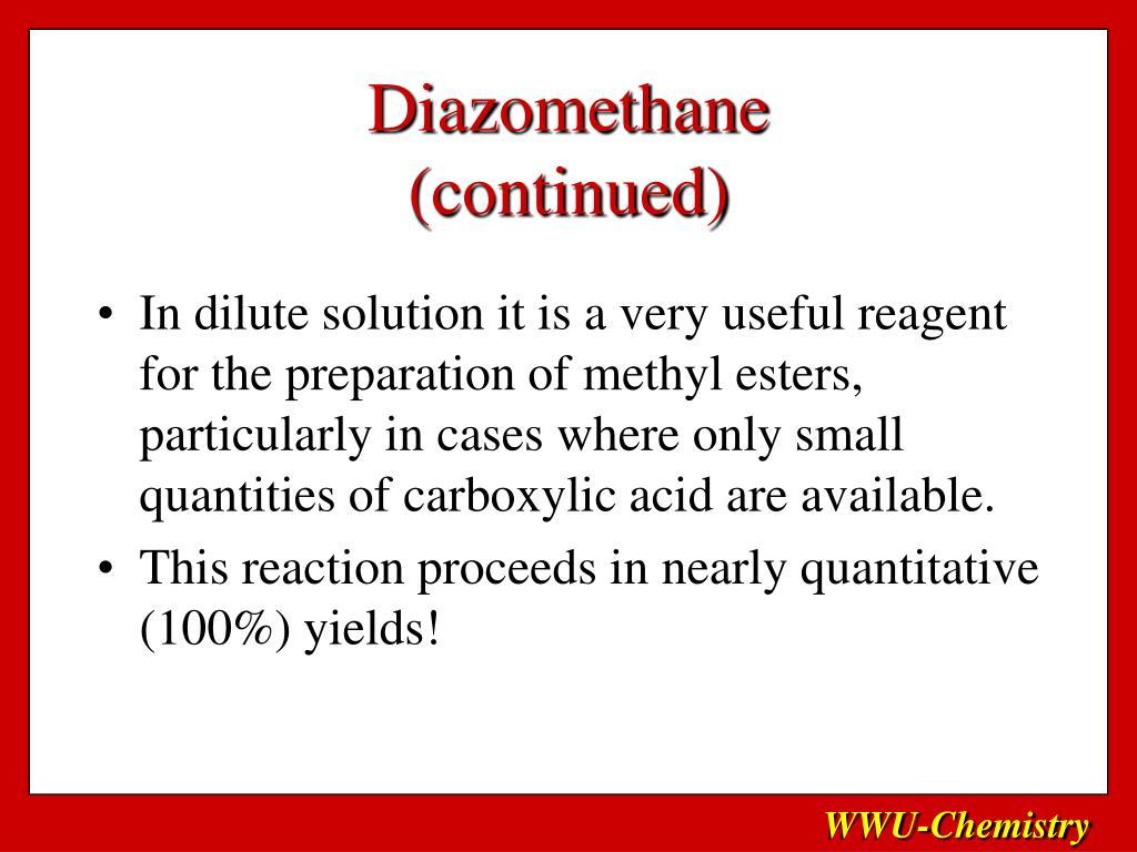 Diazomethane