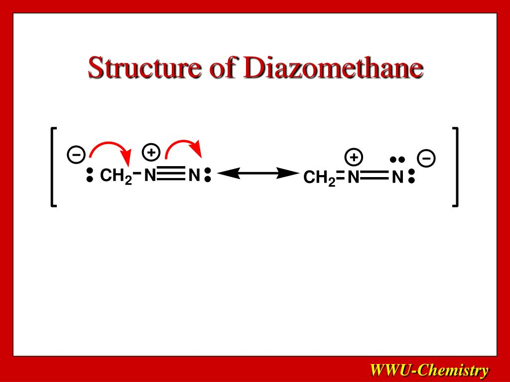 Structure of Diazomethane