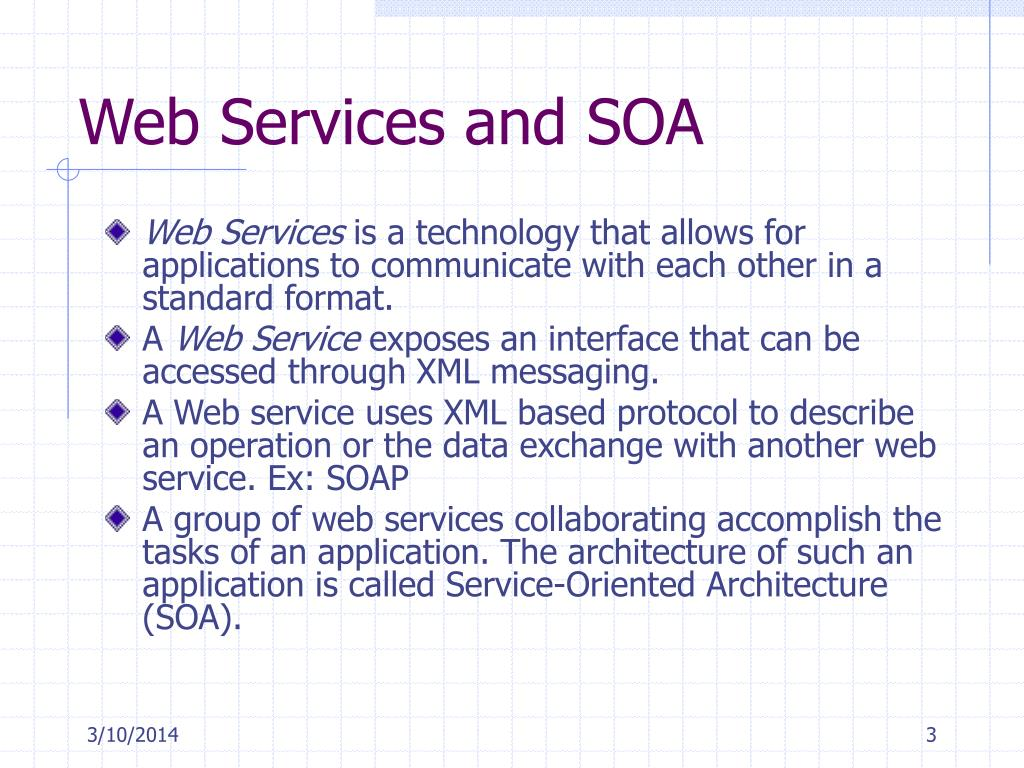 Web Services and