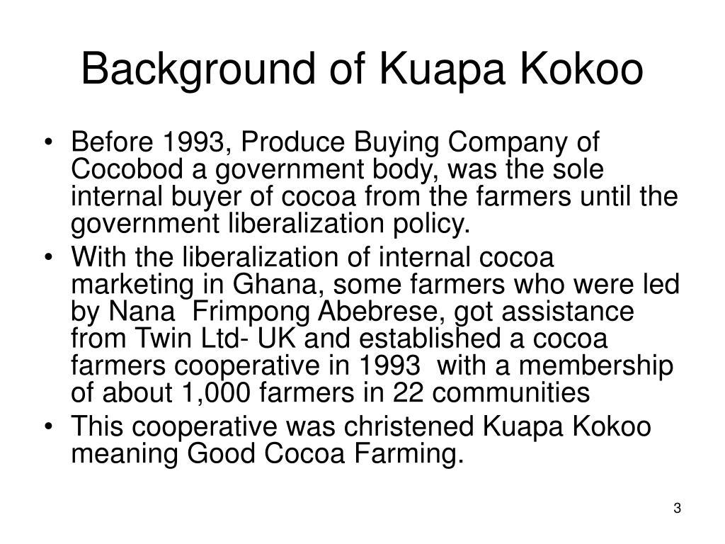 Background of Kuapa Kokoo