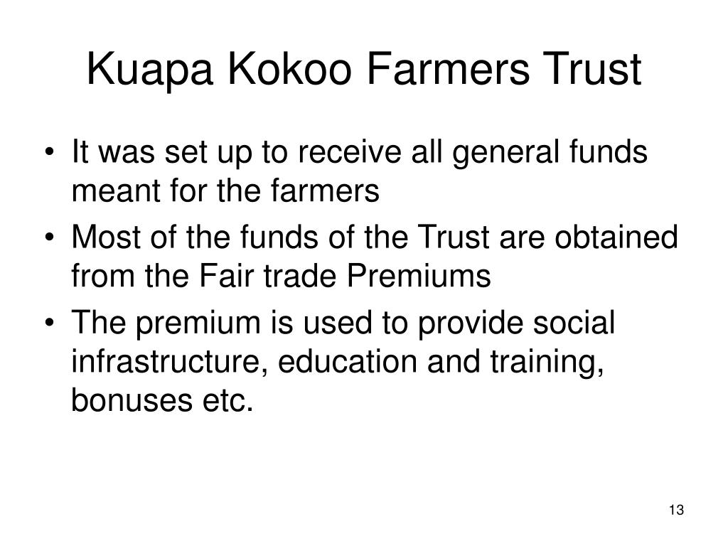 Kuapa Kokoo Farmers Trust