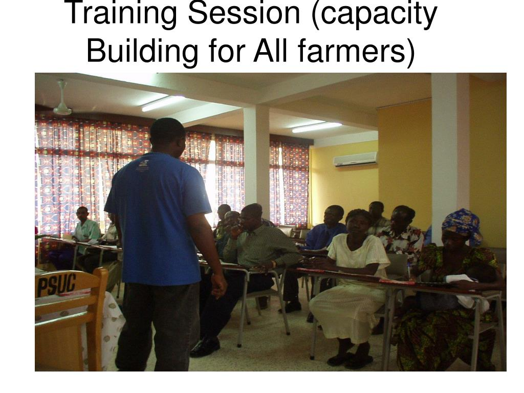 Training Session (capacity Building for All farmers)