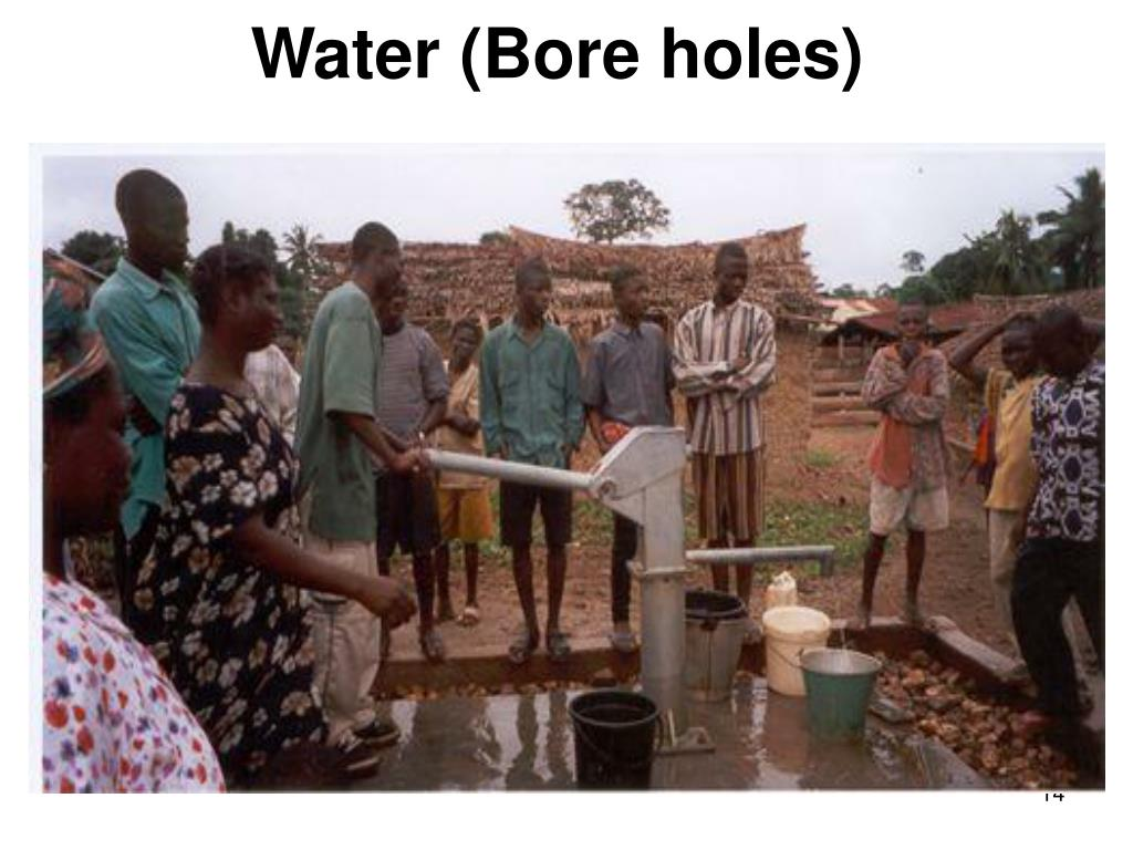 Water (Bore holes)