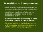 transition compromise30