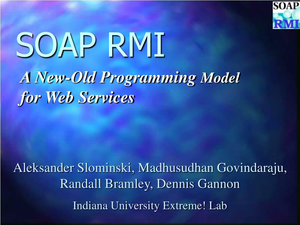 soap rmi
