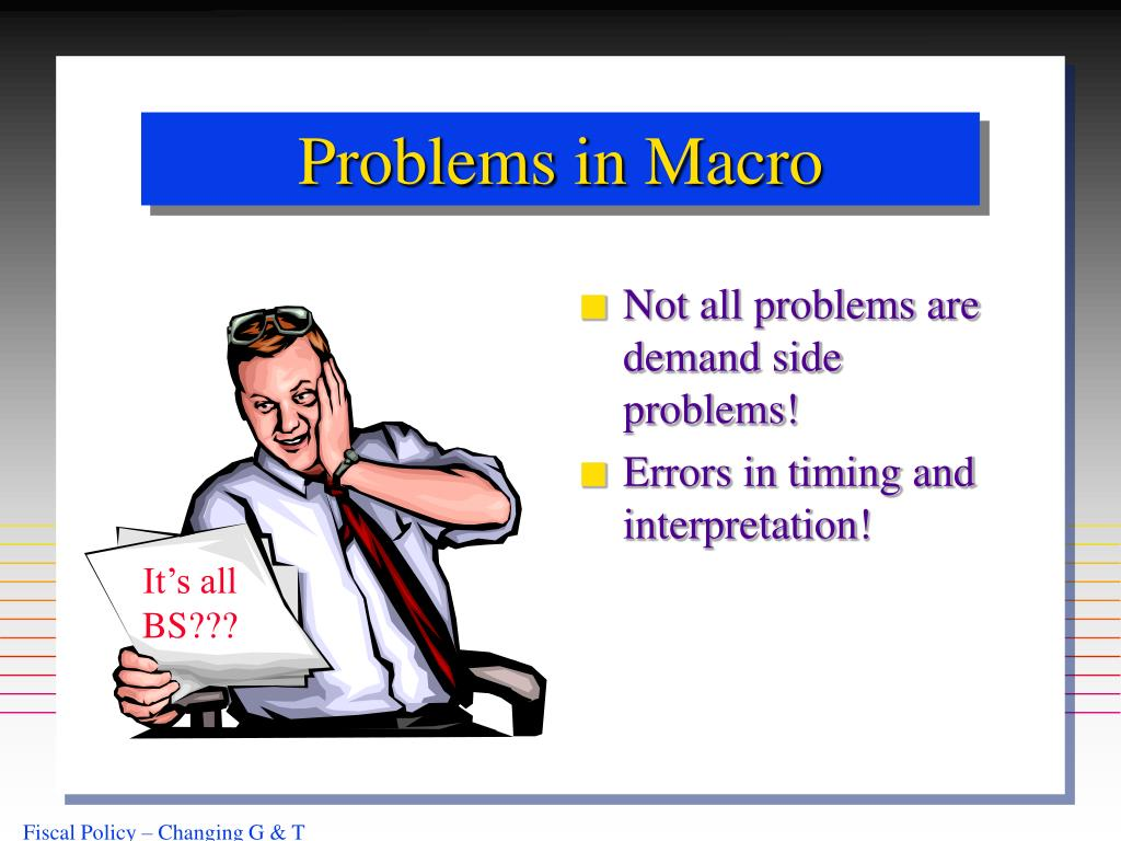 Problems in Macro