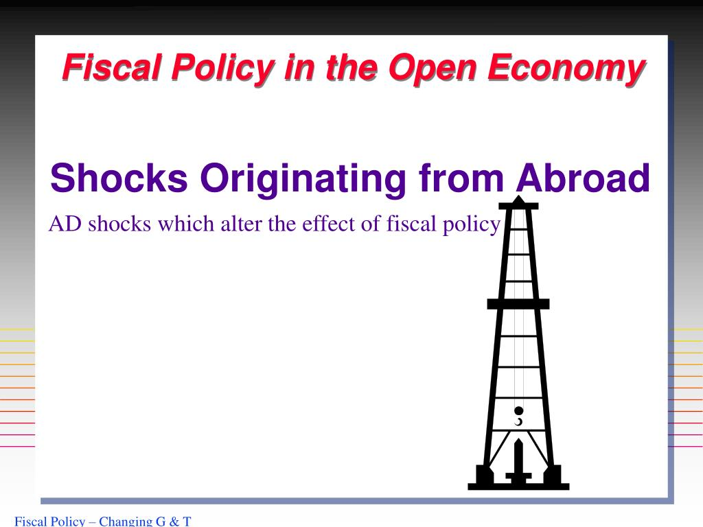 Fiscal Policy in the Open Economy