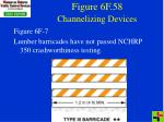 figure 6f 58 channelizing devices