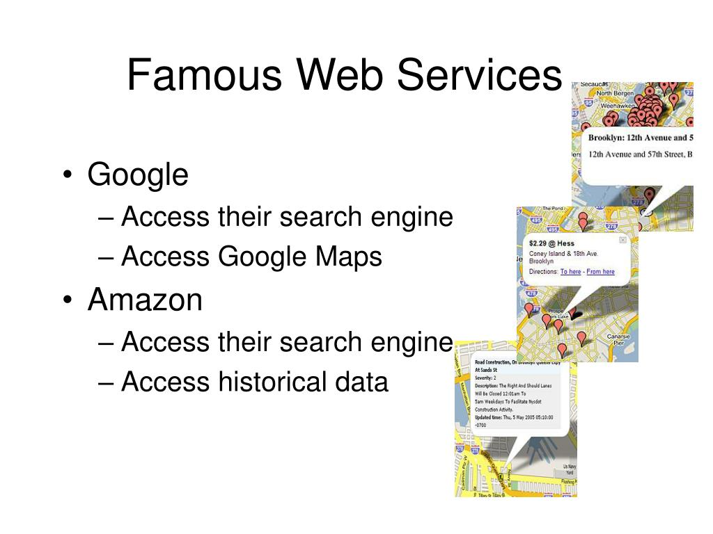 Famous Web Services