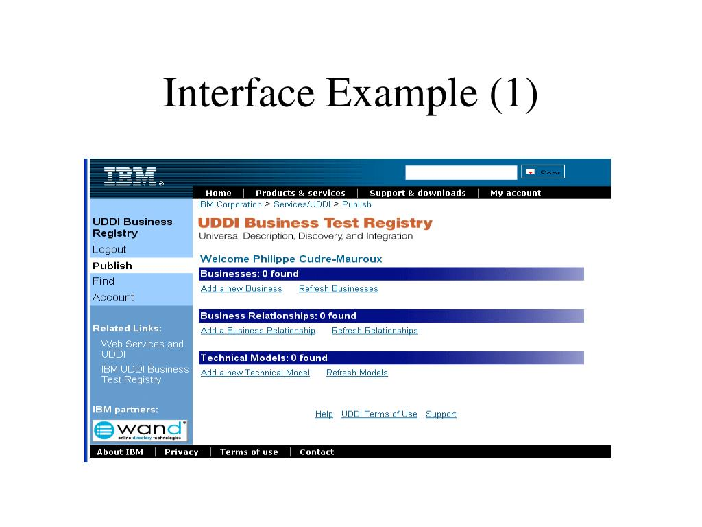 Interface Example (1)