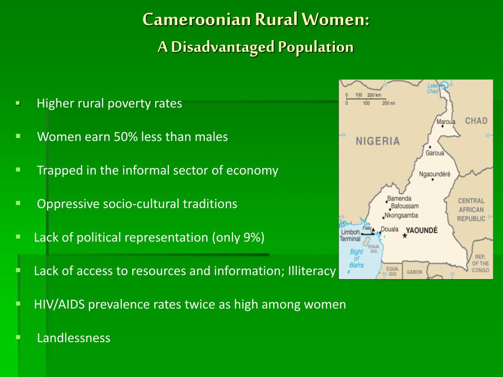 Cameroonian Rural Women: