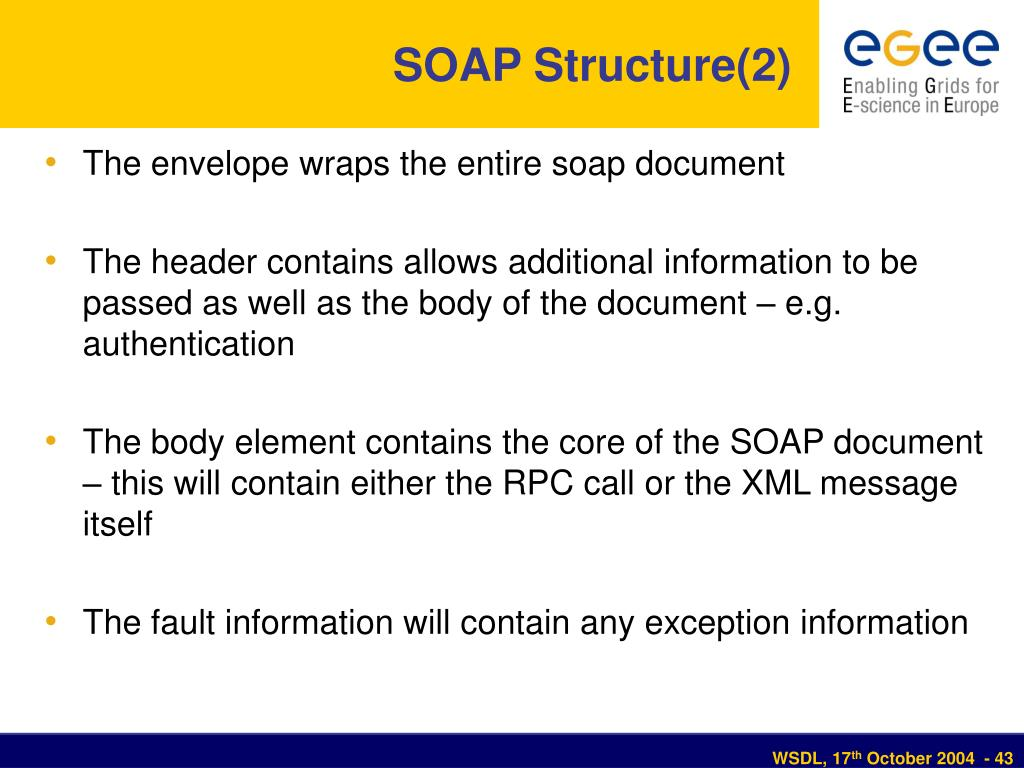SOAP Structure(2)