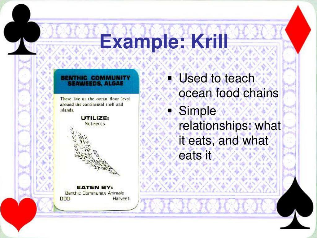 Example: Krill