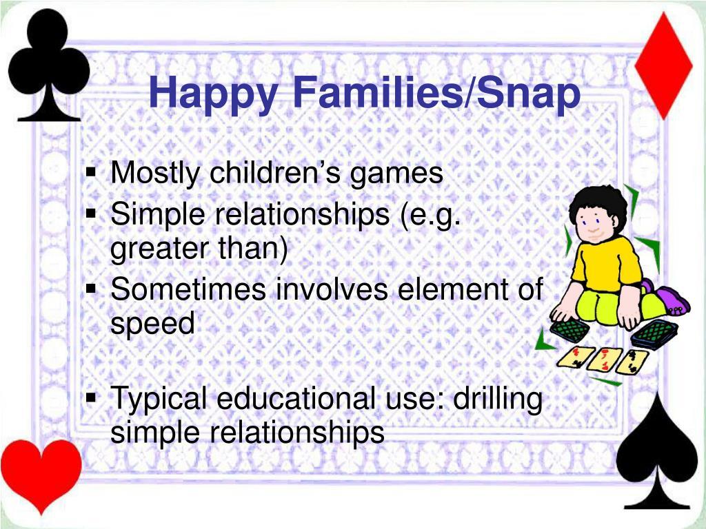 Happy Families/Snap