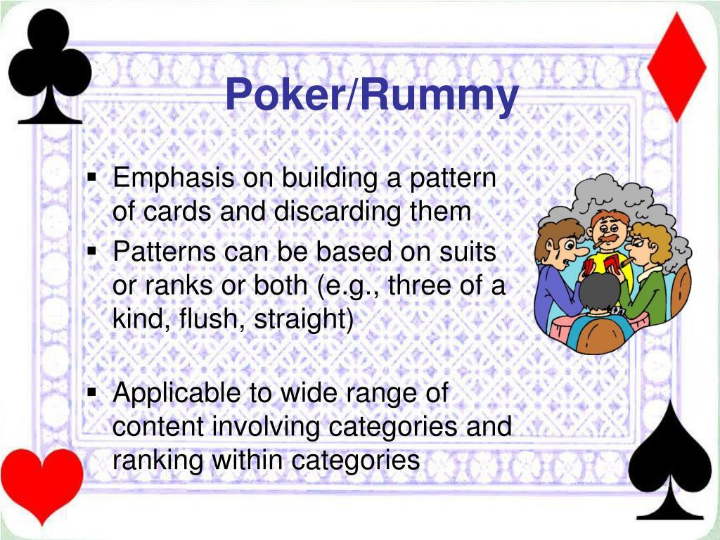 Poker/Rummy