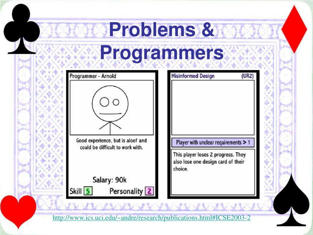 Problems & Programmers