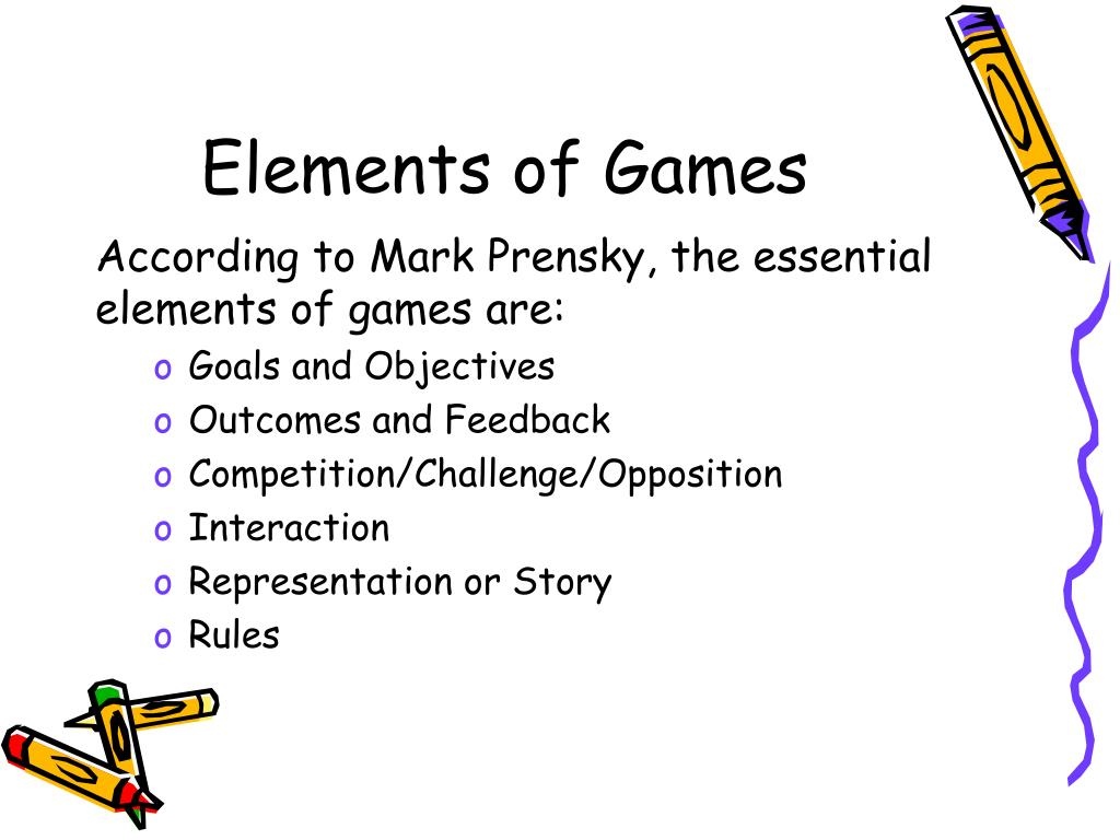 Elements of Games