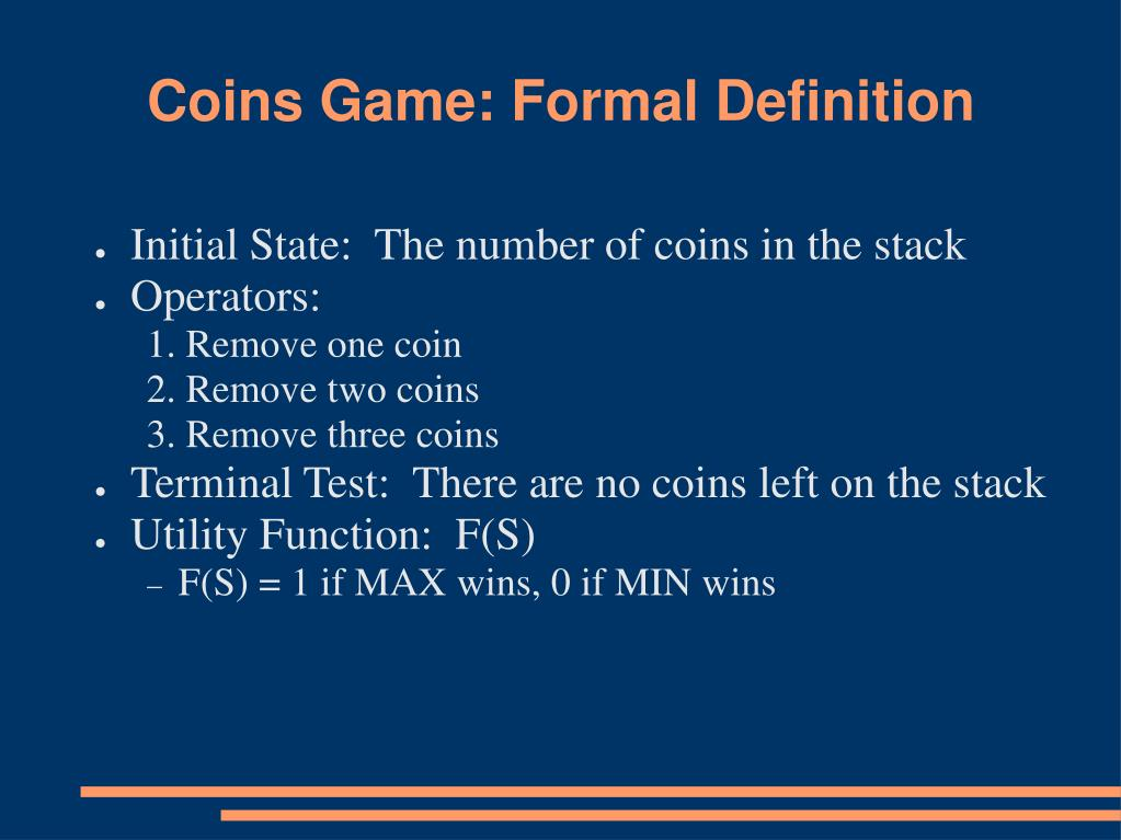 Coins Game: Formal Definition
