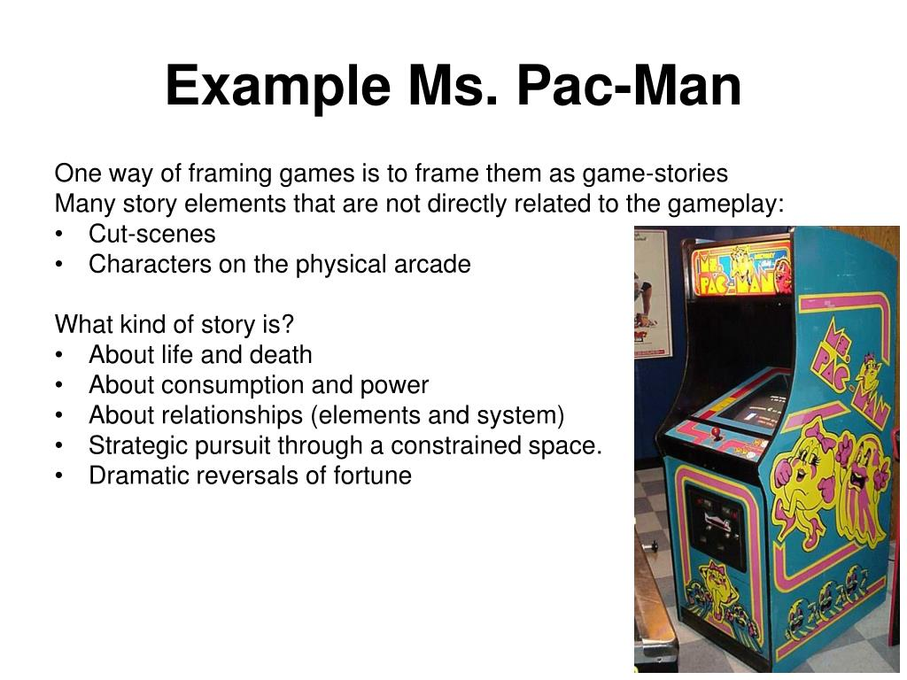 Example Ms. Pac-Man