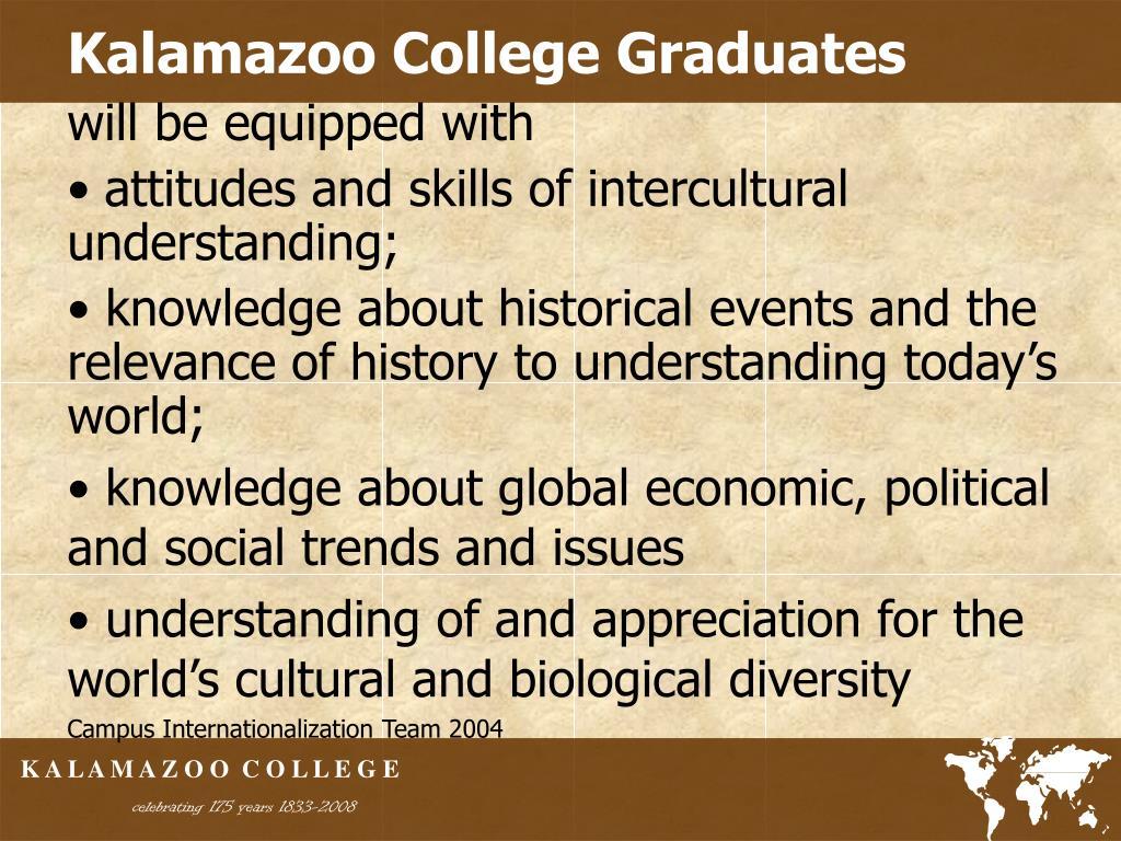 Kalamazoo College Graduates
