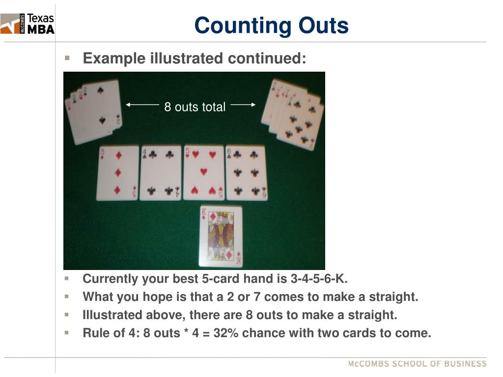 Counting Outs