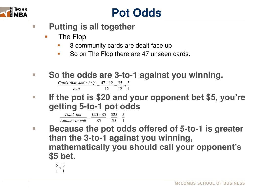 Pot Odds