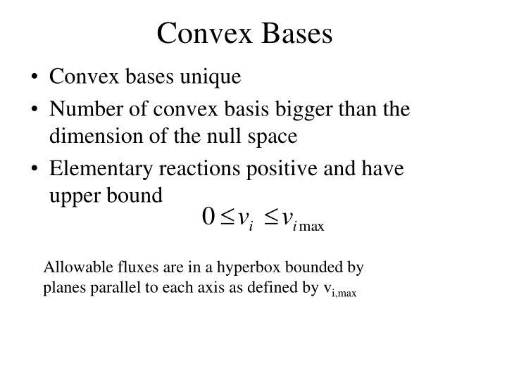 Convex Bases