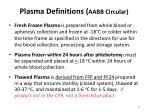 plasma definitions aabb circular