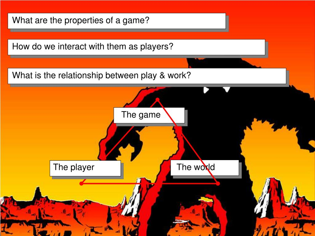 What are the properties of a game?
