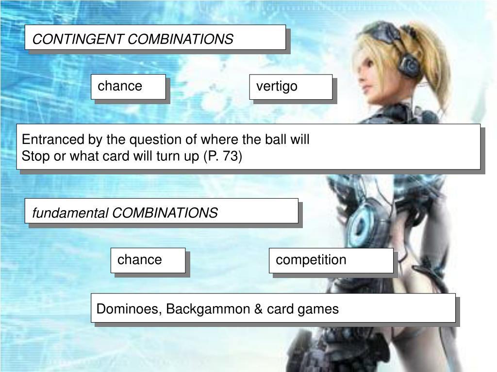 CONTINGENT COMBINATIONS