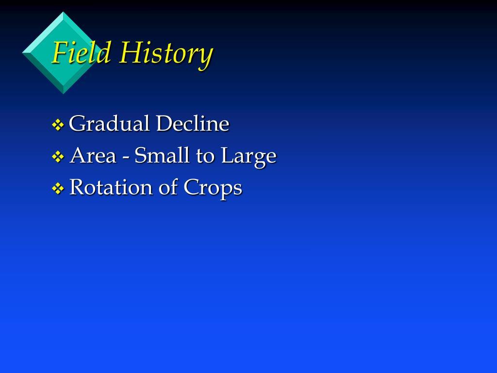 Field History