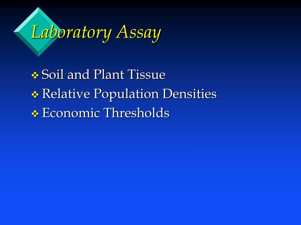 Laboratory Assay