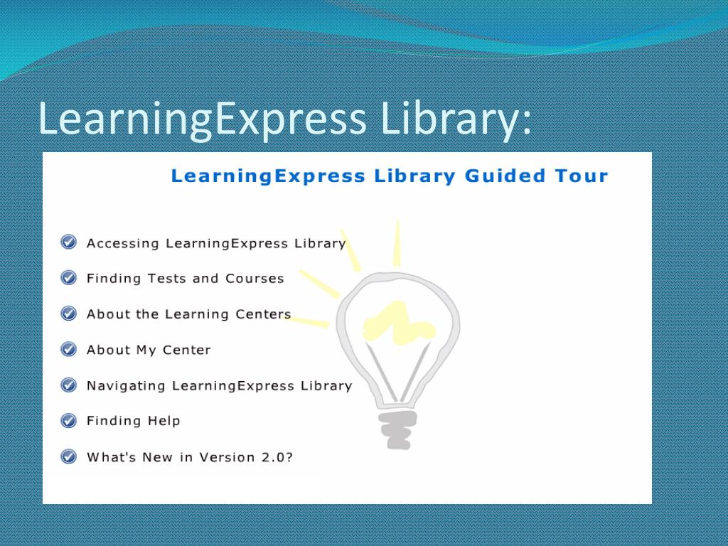 LearningExpress Library: