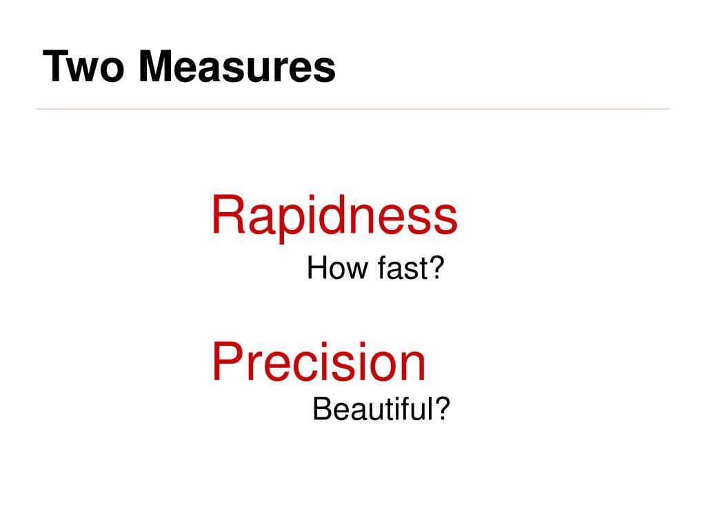 Rapidness
